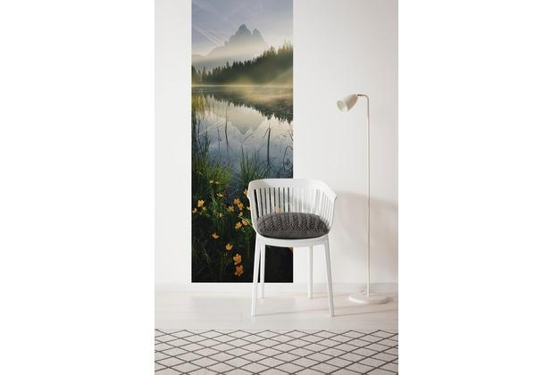 """Komar Digitaldruck Vliestapete \""""Morning Mist\"""" 100 x 280 cm"""