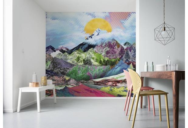 "Komar Digitaldruck Vliestapete \""Mountain Top\"" 300 x 250 cm"