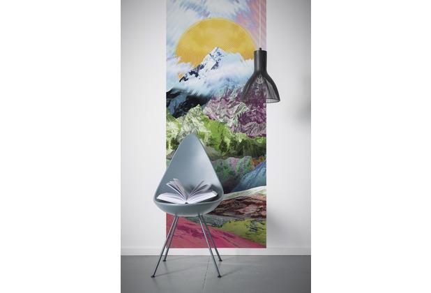 "Komar Digitaldruck Vliestapete \""Mountain Top Panel\"" 100 x 250 cm"