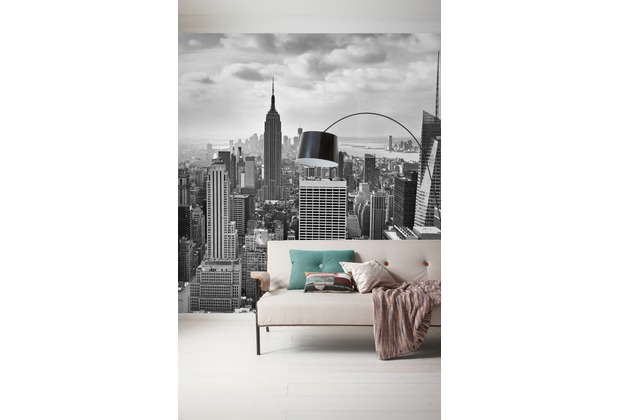 "Komar Digitaldruck Vliestapete ""NYC Black and White\"" 300 x 250 cm"