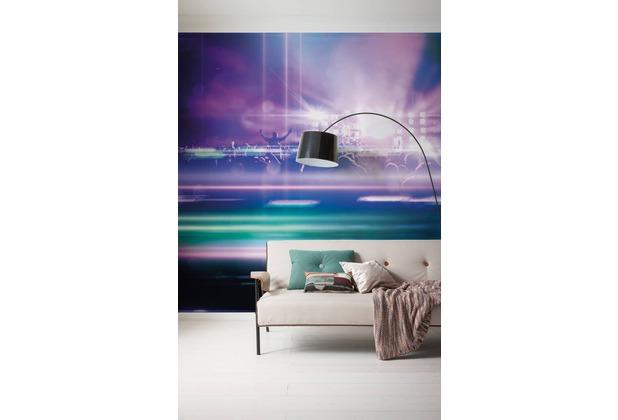 "Komar Digitaldruck Vliestapete \""Open Air Electro\"" 400 x 250 cm"