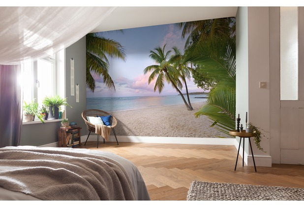 """Komar Digitaldruck Vliestapete \""""Paradise Morning\"""" 400 x 250 cm"""