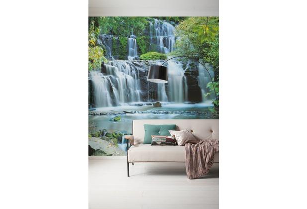 "Komar Digitaldruck Vliestapete \""Pura Kaunui Falls\"" 300 x 250 cm"