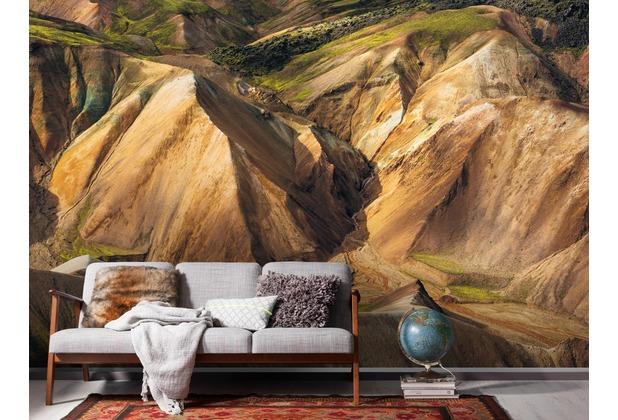 "Komar Digitaldruck Vliestapete \""Shiny Mountains\"" 400 x 250 cm"