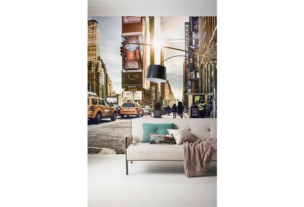 "Komar Digitaldruck Vliestapete \""Times Square\"" 300 x 250 cm"