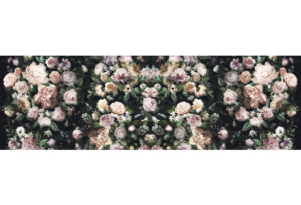 "Komar Digitaldruck Vliestapete \""Victoria Black\"" 800 x 250 cm"