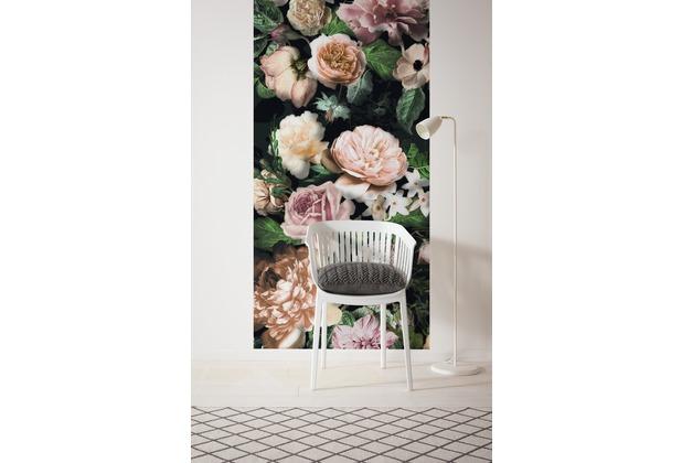 "Komar Digitaldruck Vliestapete \""Victoria Black Panel\"" 100 x 250 cm"