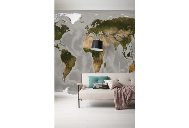 "Komar Digitaldruck Vliestapete \""World\"" 300 x 250 cm"