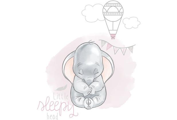 Komar Disney Wandbild Dumbo Sleepy 30 x 40 cm
