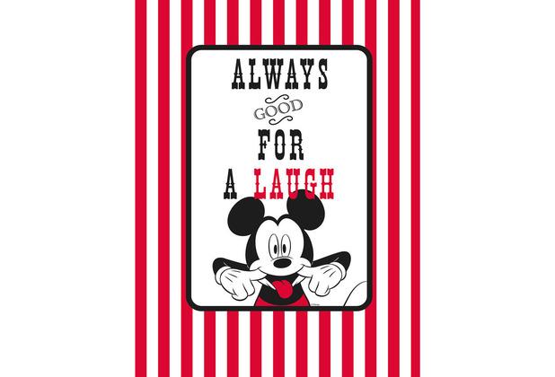 Komar Disney Wandbild Mickey Mouse Laugh 30 x 40 cm