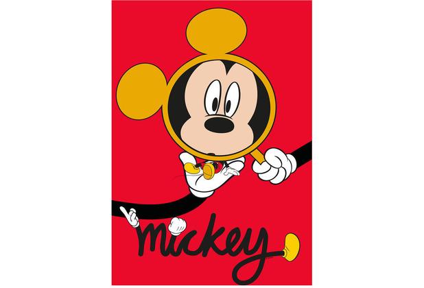 Komar Disney Wandbild Mickey Mouse Magnifying Glass 30 x 40 cm