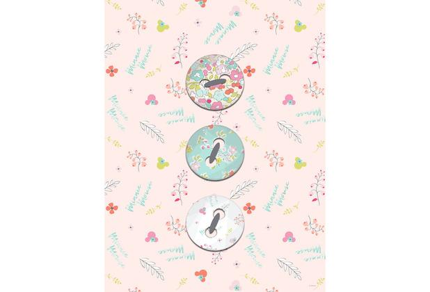Komar Disney Wandbild Minnie Mouse Buttons 30 x 40 cm