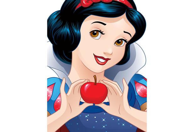 Komar Disney Wandbild Snow White Portrait 30 x 40 cm
