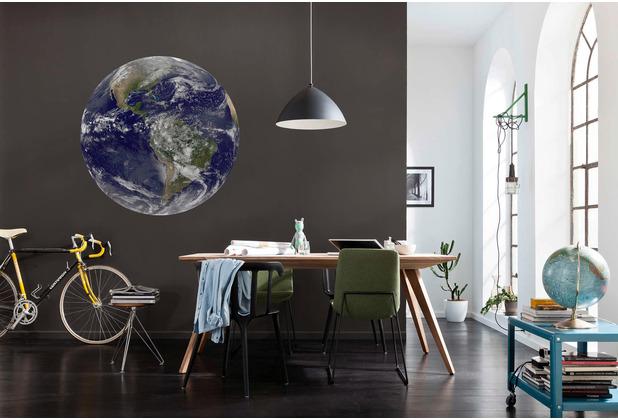 Komar Earth 125 x 125 cm Fototapete Dots