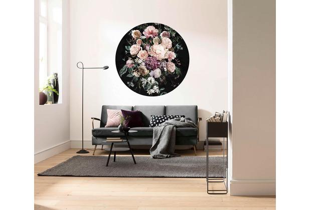 Komar Enchanted Flowers 125 x 125 cm Fototapete Dots