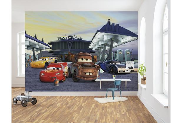 """Komar Fototapete \""""Cars3 Station\"""" 368 x 254 cm"""