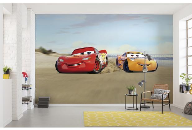 """Komar Fototapete \""""Cars Beach Race\"""" 368 x 254 cm"""