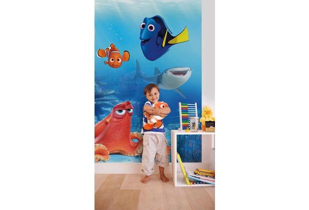 "Komar Fototapete \""Dory and Friends\"" 184 x 254 cm"