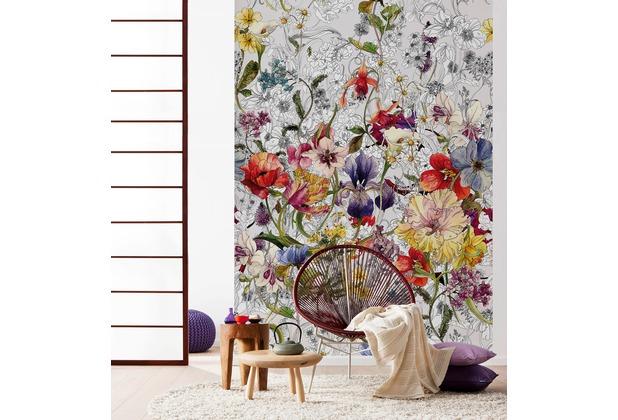 "Komar Fototapete \""Flora\"" 184 x 254 cm"