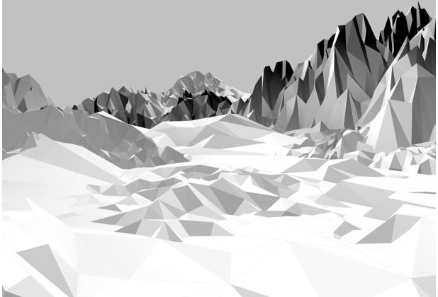 """Komar Fototapete \""""Icefields\"""" 368 x 254 cm"""