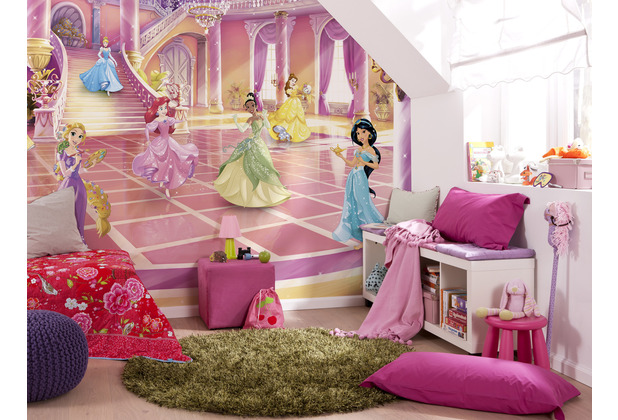 "Komar Fototapete ""Princess Glitzerparty\"" 368 x 254 cm"