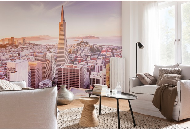 "Komar Fototapete \""San Francisco Morning\"" 368 x 254 cm"