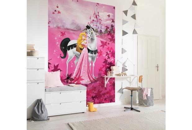 """Komar Fototapete \""""Sleeping Beauty\"""" pink"""