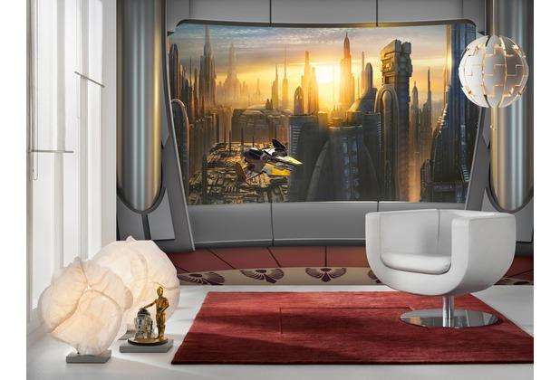 Komar Fototapete Star Wars Coruscant View