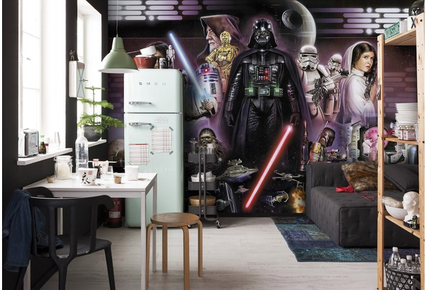 Komar Fototapete Star Wars Darth Vader Collage