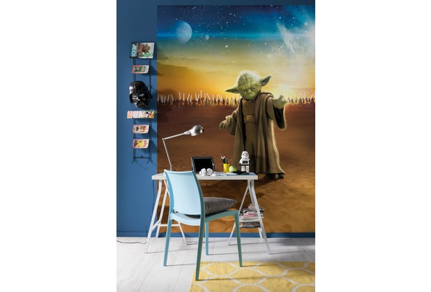 Komar Fototapete Star Wars Master Yoda