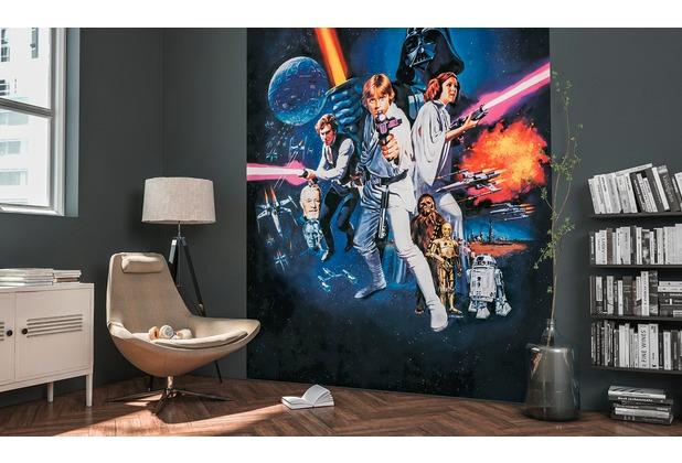 Komar Fototapete Star Wars Poster Classic 1 200 x 250 cm