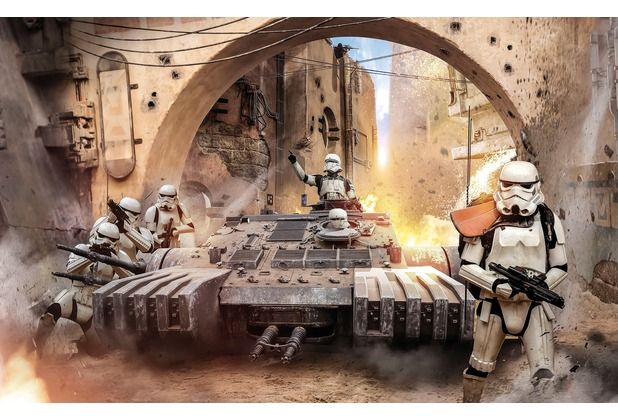 komar fototapete star wars tanktrooper 400 x 250 cm. Black Bedroom Furniture Sets. Home Design Ideas
