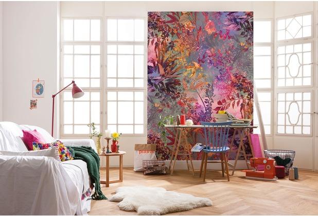 "Komar Fototapete \""Wild Garden\"" 184 x 254 cm"