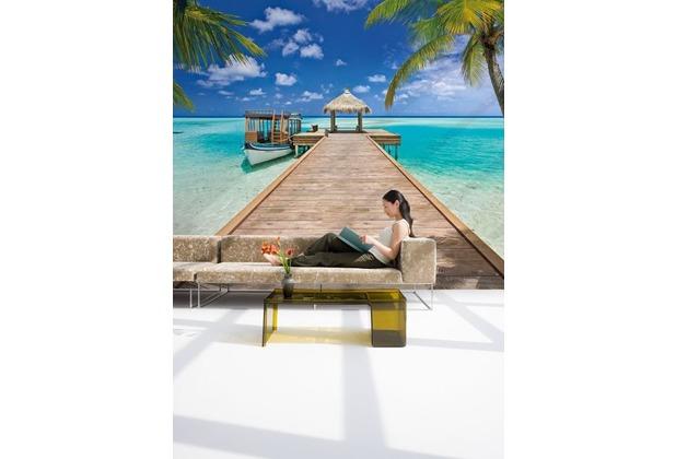 Komar Fototapete Beach Resort 368 x 254 cm