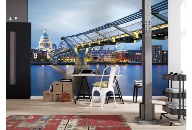 Komar Fototapete Millenium Bridge 368 x 254 cm