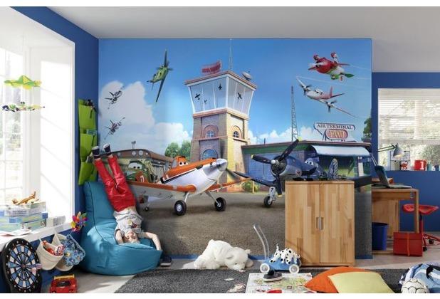 Komar Fototapete Planes Terminal 368 x 254 cm