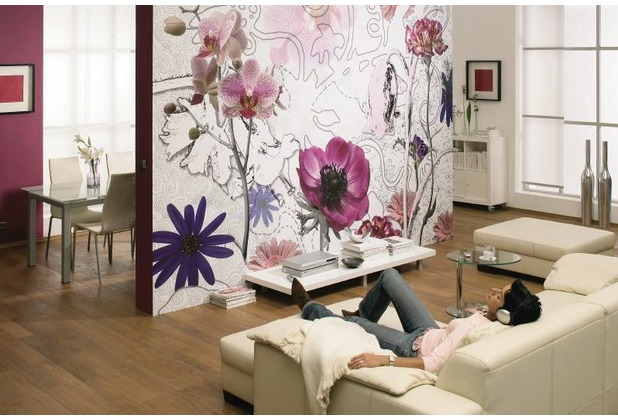 Komar Fototapete Purple 368 x 254 cm