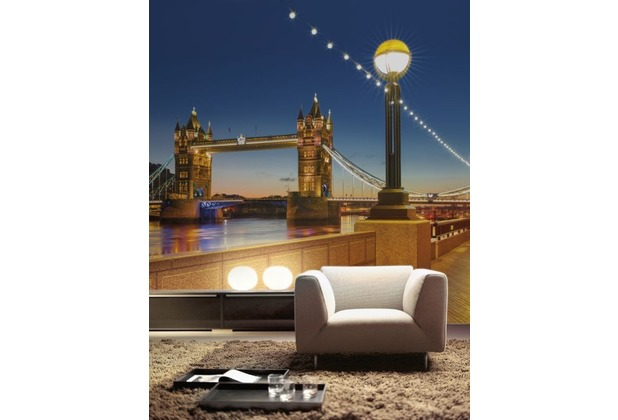 Komar Fototapete Tower Bridge 368 x 254 cm