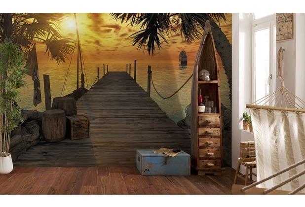 Komar Fototapete Treasure Island 368 x 254 cm