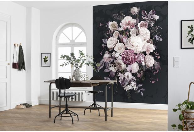 "Komar home Vlies Fototapete \""Bouquet Noir\"" 200 x 250 cm"