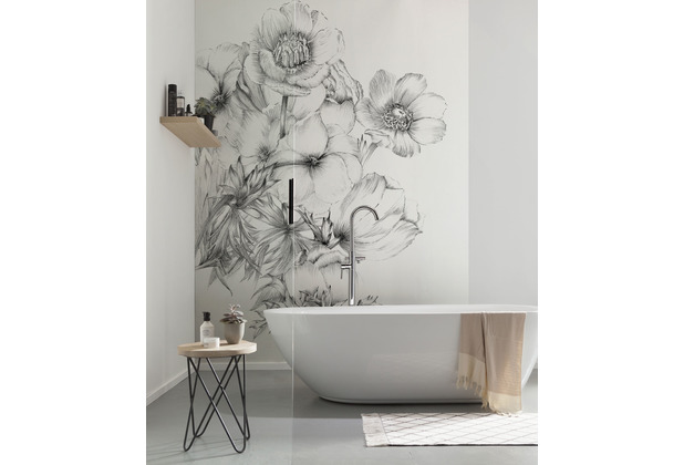 "Komar home Vlies Fototapete \""Embroidery\"" 184 x 248 cm"