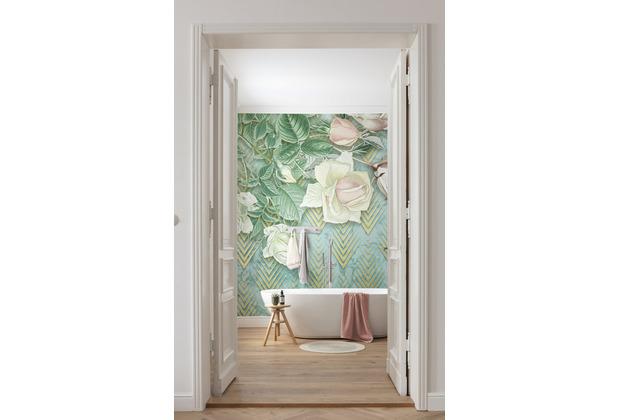 """Komar home Vlies Fototapete \""""Rose Poem\"""" 200 x 250 cm"""