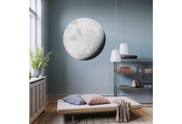 Komar Luna 125 x 125 cm Fototapete Dots