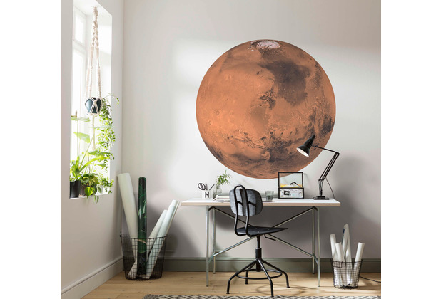 Komar Mars 125 x 125 cm Fototapete Dots