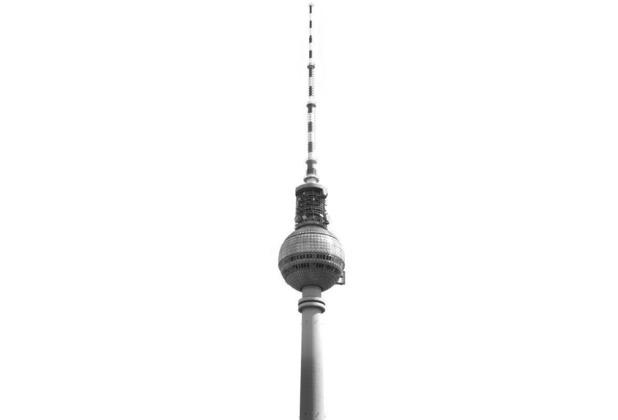 Komar Vlies Fototapete munich design book - Fernsehturm 50 x 250 cm