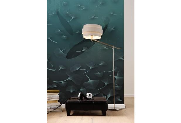 Komar Vlies Fototapete munich design book - Ginkgo 200 x 250 cm
