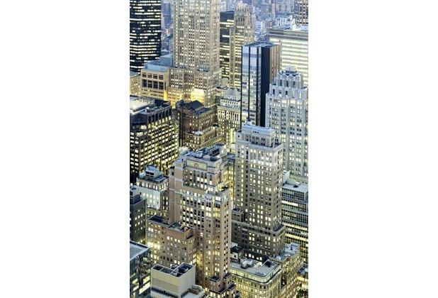 Komar Vlies Fototapete munich design book - Night Shift 150 x 250 cm