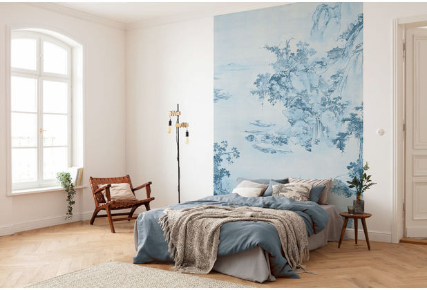 Komar RAW Blue China blau 200 x 280 cm