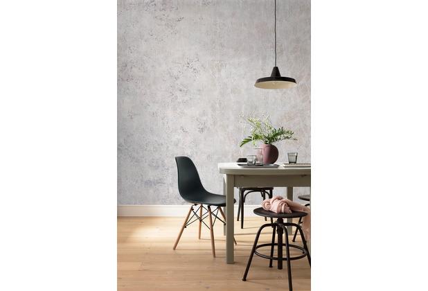 Komar RAW Feathered weiß, grau 400 x 280 cm