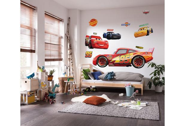 "Komar Selbstklebende Vlies Fototapete \""Cars XXL\"" 127 x 200 cm"